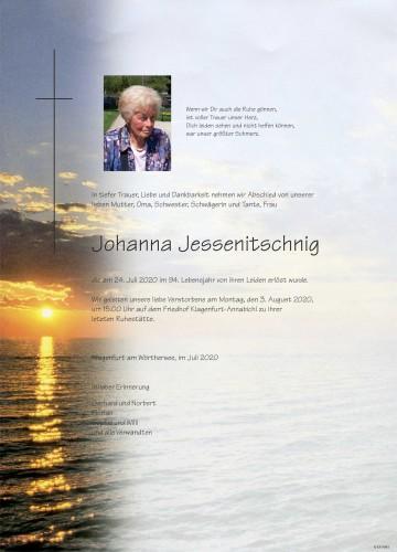 Johanna Jessenitschnig