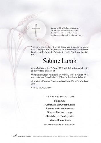 Sabine Lanik