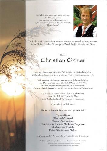 Christan Ortner