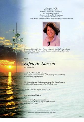 Elfriede Stessel