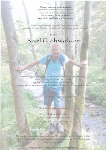 Karl Eichwalder