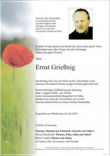 Ernst Grießnig