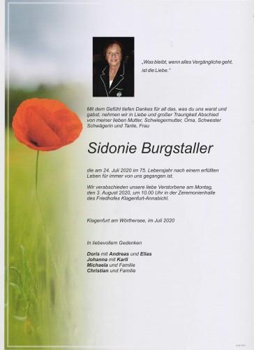 Sidonie Burgstaller