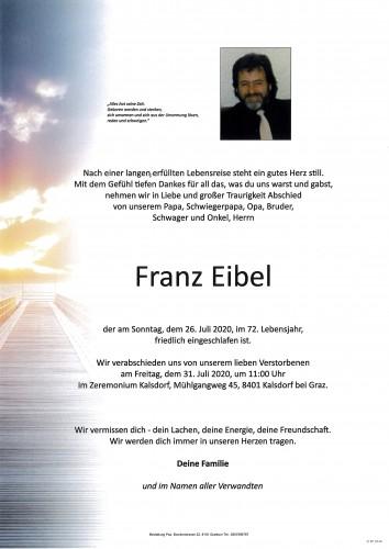 Franz Eibel