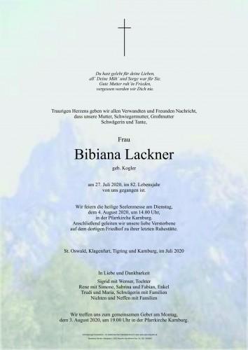 Bibiana Lackner