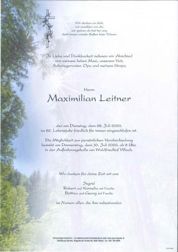 Maximilian Leitner