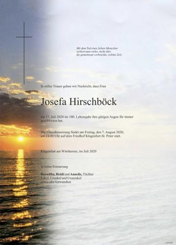 Josefa Hirschböck