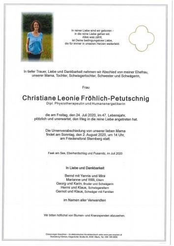 Christiane Fröhlich-Petutschnig