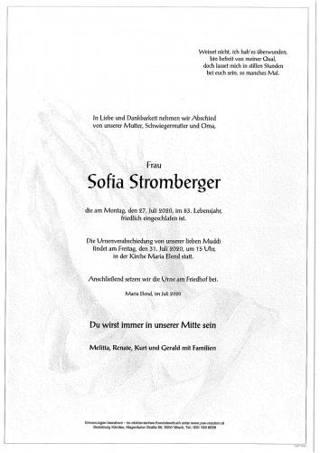 Sofia Stromberger