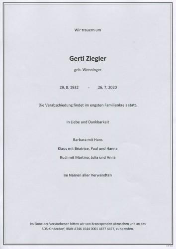 Gertrude Ziegler