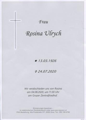 Rosina Ulrych