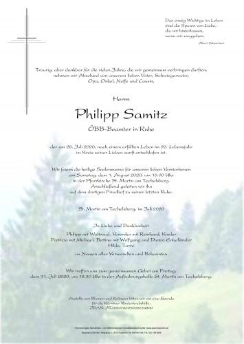 Philipp Samitz