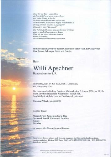 Willibald Apschner