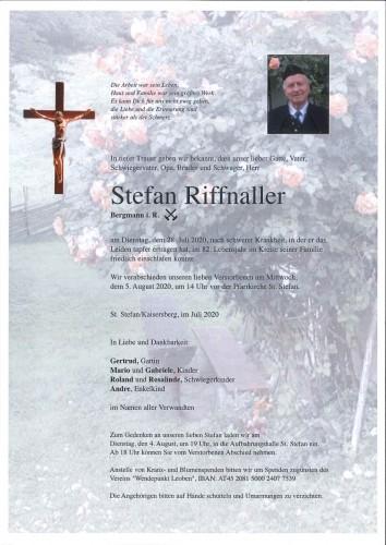 Stefan Riffnaller