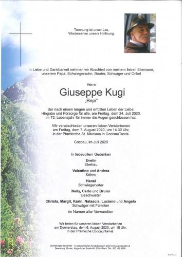 """Giuseppe """"Bepi"""" Kugi"""