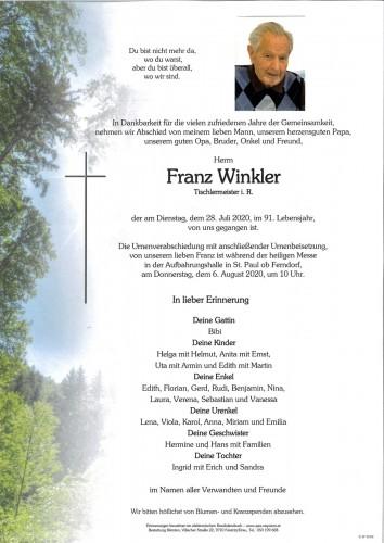 Franz Winkler