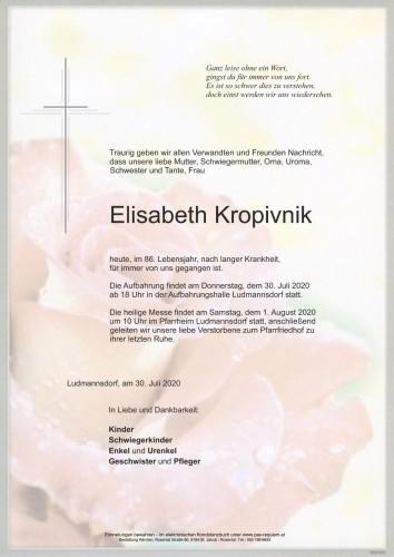 Elisabeth Kropivnik