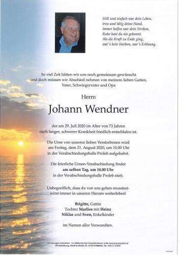 Johann Wendner