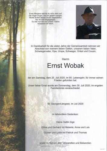 Ernst Wobak