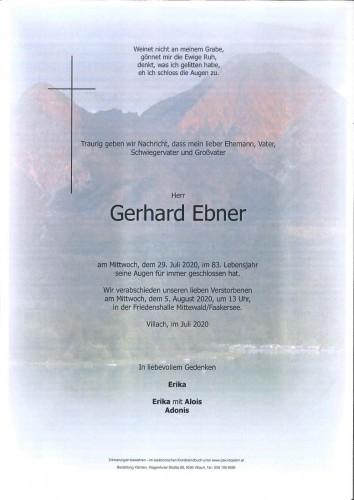 Gerhard Ebner