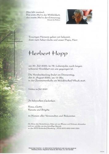 Herbert Hopp