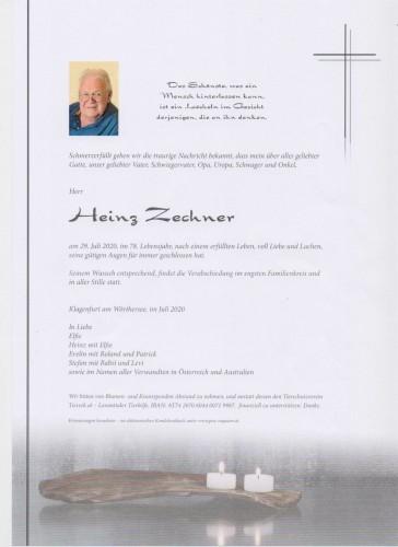Heinz Zechner