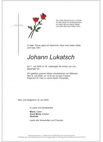 Johann Lukatsch