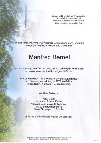 Manfred Bernel