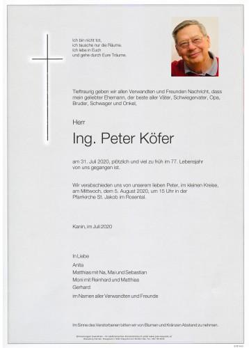 Ing. Peter Köfer