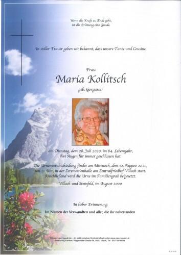 Maria Kollitsch