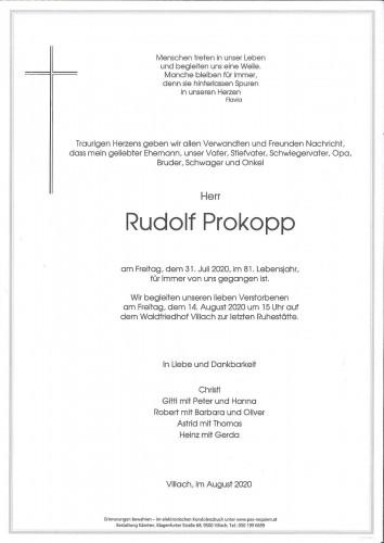 Rudolf Prokopp
