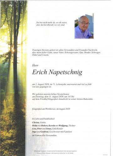 Erich Napetschnig