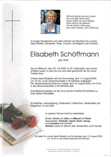 Elisabeth Schöffmann  geb. Stark