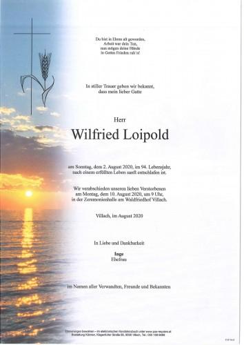 Wilfried Loipold