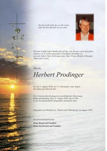 Herbert Prodinger