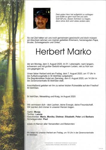 Herbert Marko
