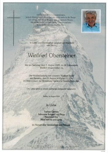 Winfried Obersteiner