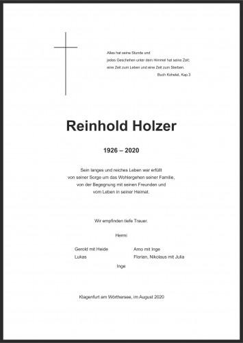 Reinhold Holzer