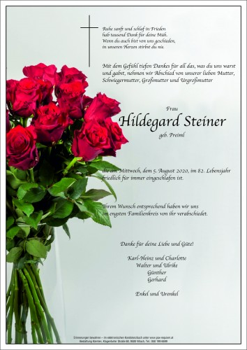Hildegard Steiner