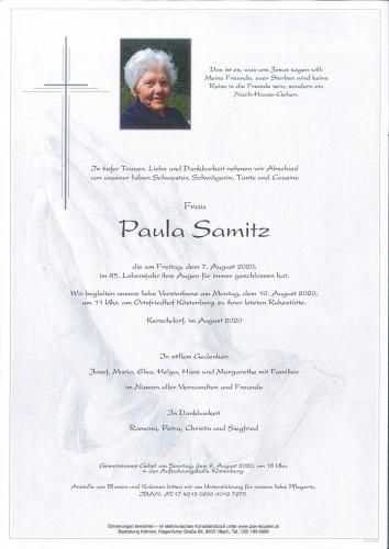 Paula Samitz