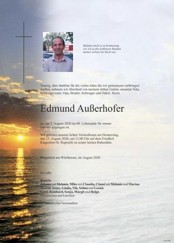 Edmund Außerhofer