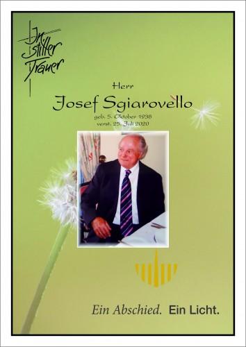 Josef Sgiarovello