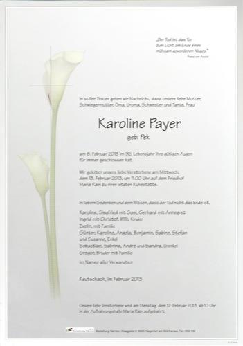PAYER Karoline