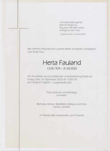 Herta Fauland