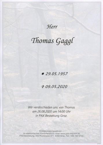 Thomas Gaggl