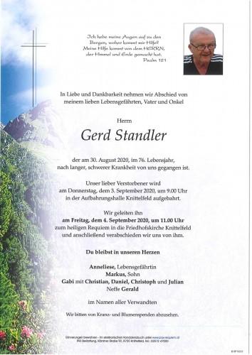 Gerd Standler