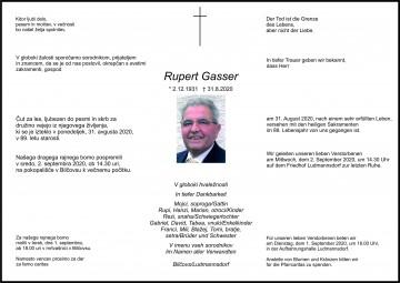 Rupert Gasser