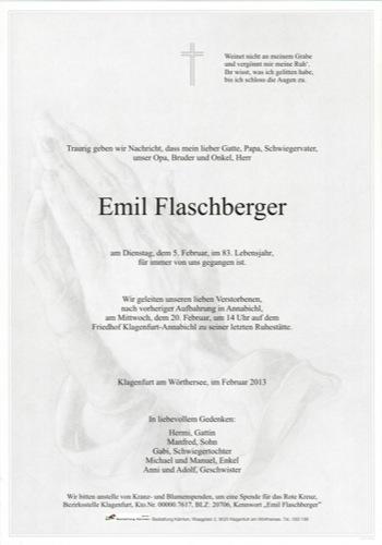 FLASCHBERGER Emil
