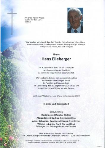 Hans Elleberger