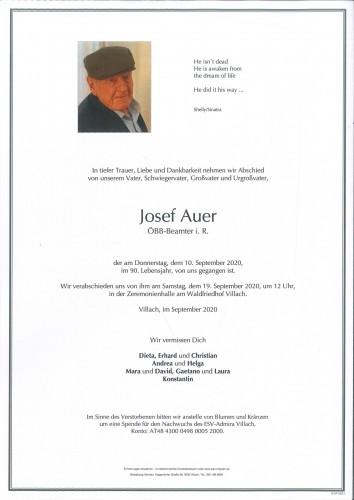Josef Auer